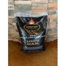 See Details - Lumberjack 100% Oak Pellets 20 Lbs Bag