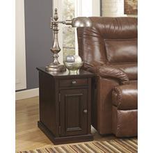Laflorn Chair Side End Table - Sable