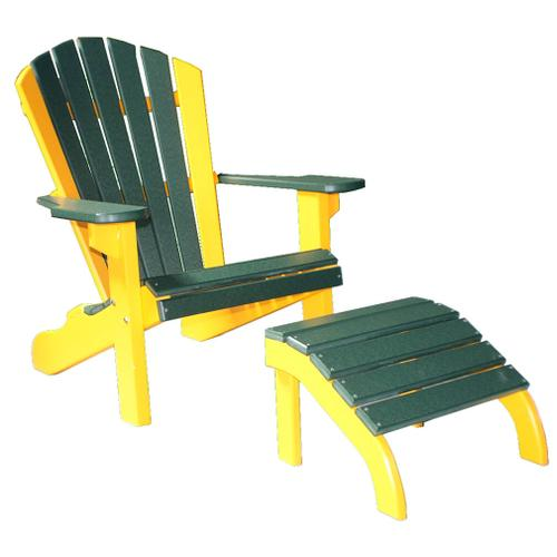 """22"""" Classic Beach Chair (Ottoman Sold Separately)"""