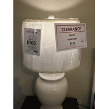 "Ashley ""Darena"" Cream L100484 Table Lamp 17W-17D-31.75H"