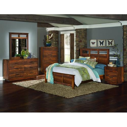 Cypress Grove Queen Headboard - Solid Style
