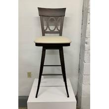 """See Details - Amisco """"Cindy"""" Swivel Bar Stool"""