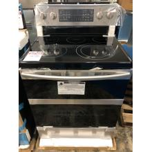 5.9 cu. ft. Freestanding Electric Range with Flex Duo **OPEN BOX ITEM** West Des Moines Location