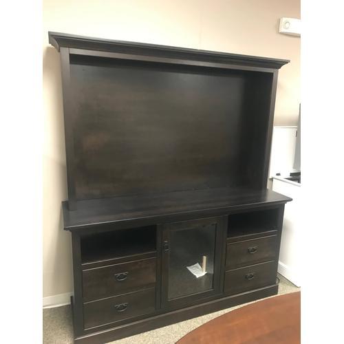 Amish Craftsman - Custom entertainment center