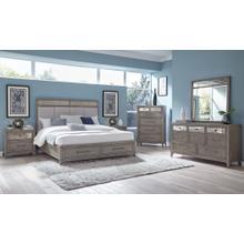 See Details - Sedona Smoke Queen Bedroom Set
