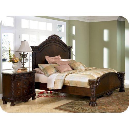 Ashley Furniture - Ashley B553 North Shore Millennium Bedroom set Houston Texas USA Aztec Furniture