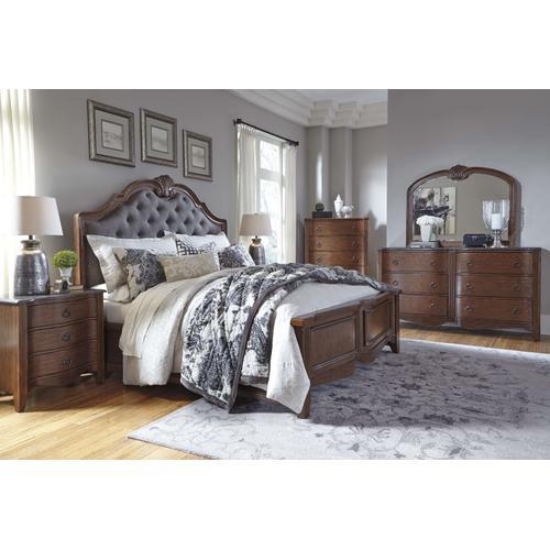 Ashley Furniture - Ashley Furniture B708 Balinder Upholstery Bedroom set Houston Texas USA