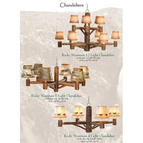 Old Hickory Furniture - Chandeliers