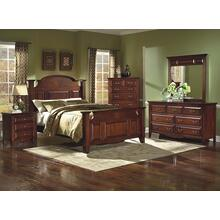 New Classic 4 Pc Queen Bedroom Set, Drayton Hall B6740