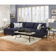 Sofa-Chaise - Prelude Navy