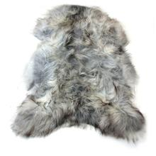 Icelandic 2x3' Single Pelt NATURAL GREY