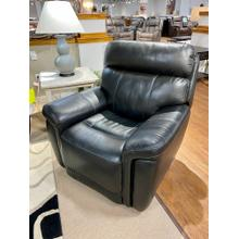Stallion Black Full Power Leather Recliner