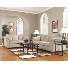 "Ashley ""Darcy"" Cream Microfiber Sofa/Loveseat/ T180 Coffee/ 2 End Tables"