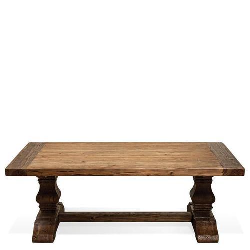 Riverside - Hawthorne - Side Table and Coffee Table - Barnwood Finish-Floor Sample
