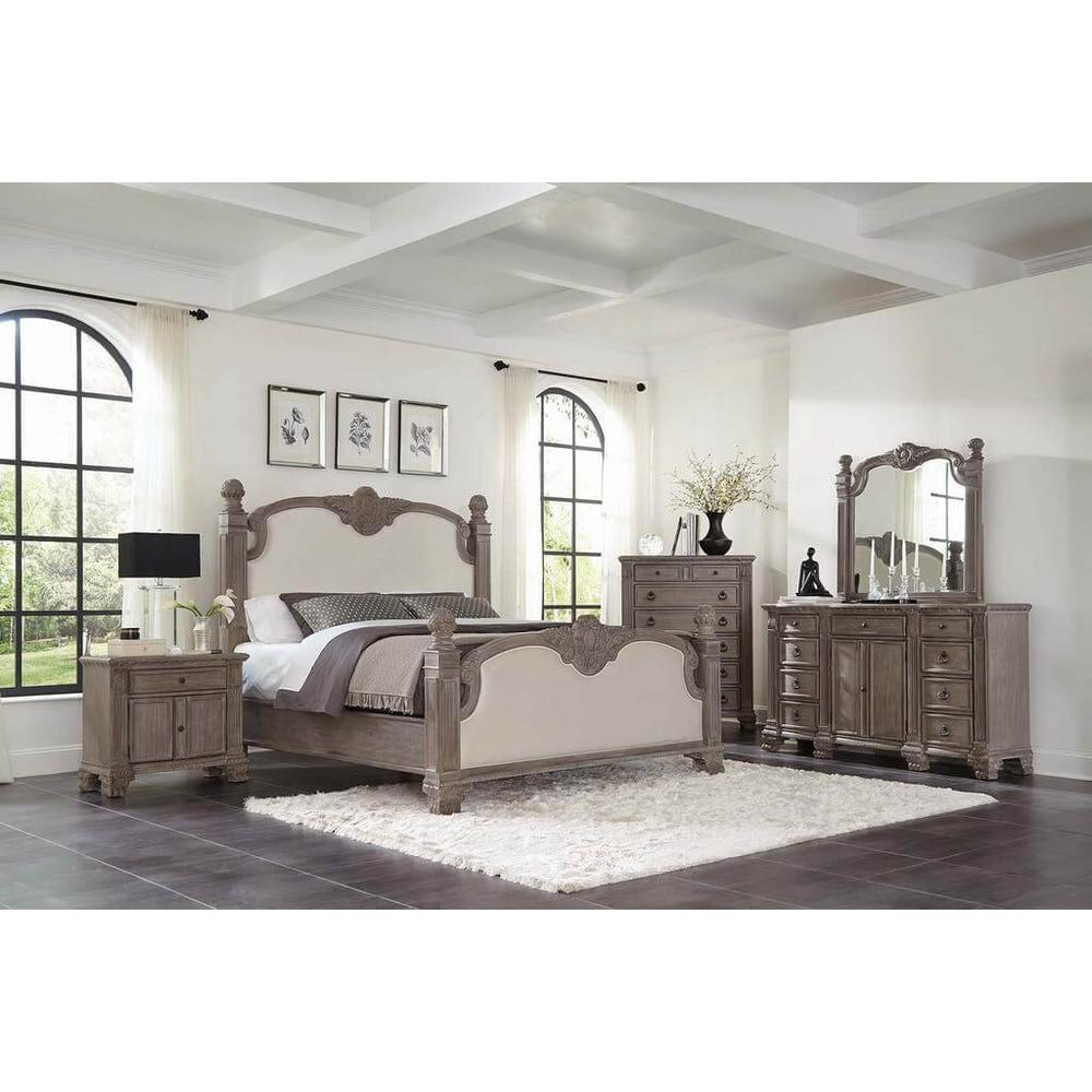 Jenna 4Pc Queen Bed Set