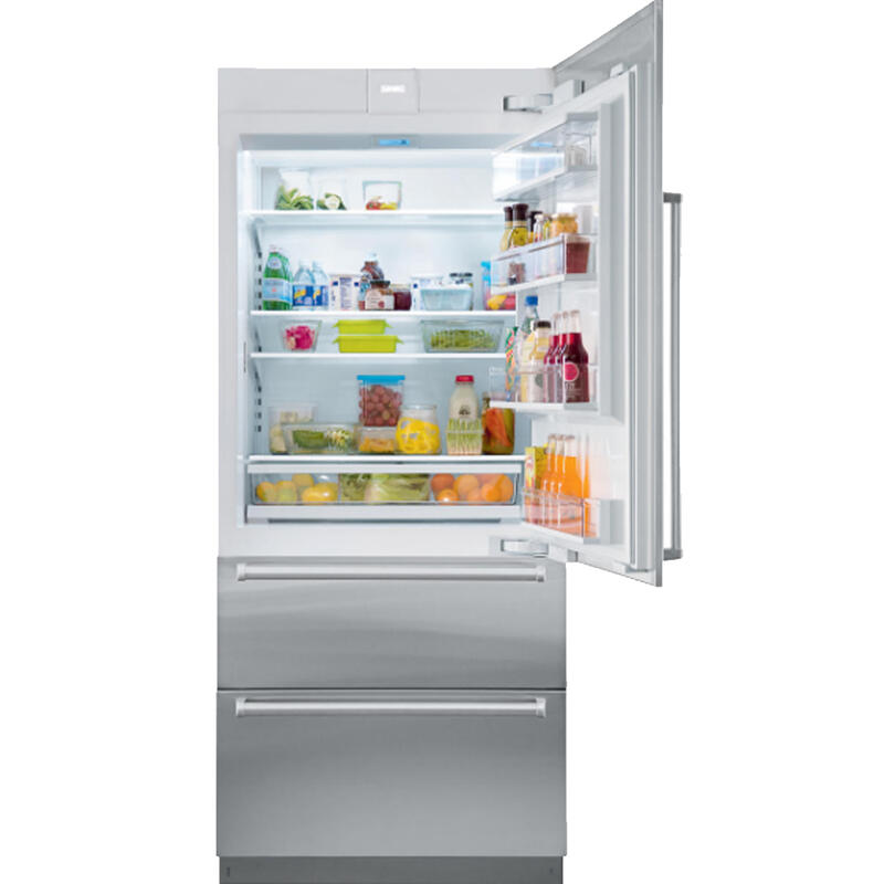 "36"" Designer Over-and-Under Refrigerator/Freezer with Ice Maker - Panel Ready"