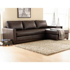 London Leather Sectional