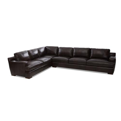 Sassari Leather Sectional