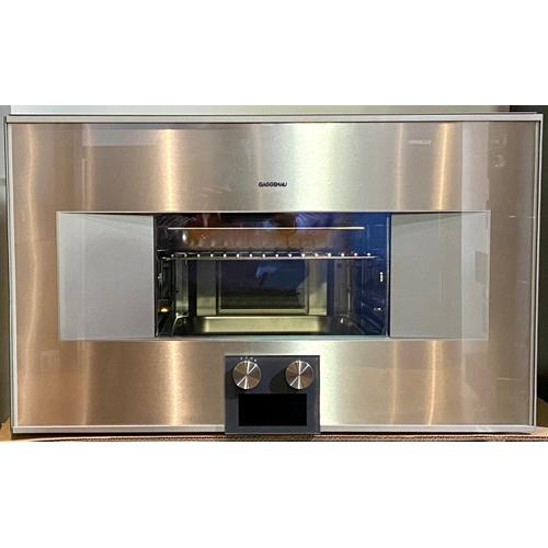Gagenau BS464610 400 Series Combi-steam Oven 76 Cm Stainless Steel Behind Glass, Door Hinge: Right, Door Hinge: Right