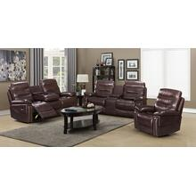 Generation Trade Cayman Brown Reclining Sofa and Loveseat (Recliner available)