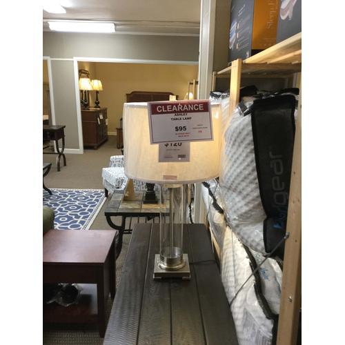 "Ashley ""Talar"" Clear & Silver Finish L430174 Table Lamp 16W-16D-30 1/2 H"