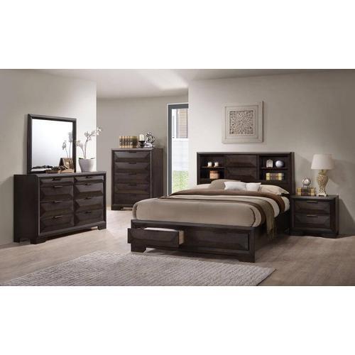 Jena 4 Pcs Queen  Bedroom Set