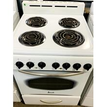 "USED- 24"" Electric Range- E24WHCOIL-U SERIAL #2"