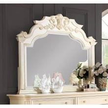 Victoria Carved Bedroom Mirror