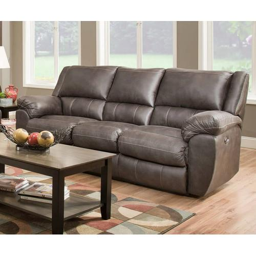 UNITED 50433PBRLS Shiloh Granite Power Reclining Console Loveseat