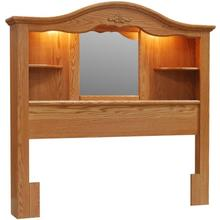 See Details - Vintage Twin Bookcase Headboard