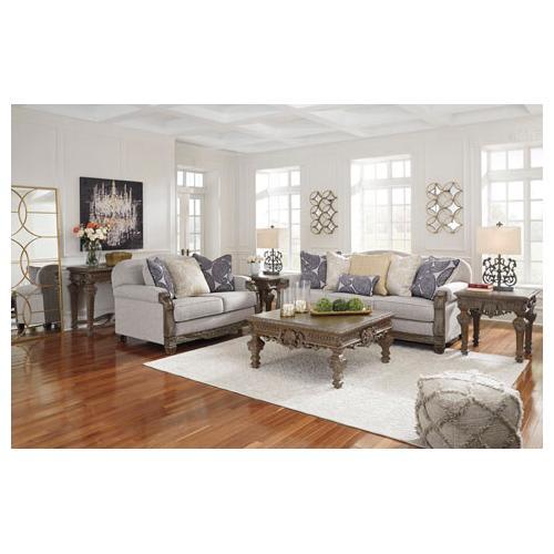 - Sylewood Sofa and Loveseat Set