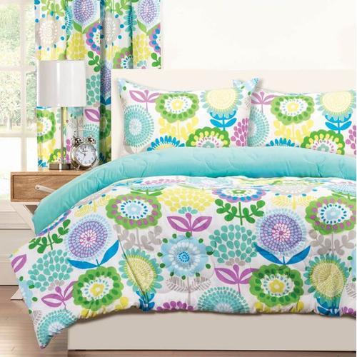 """Pointillist Pansy"" Crayola Comforter Sets Twin"