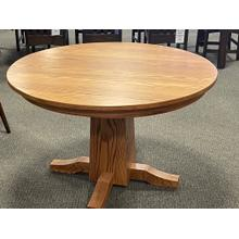 "Amish 48"" Round Dinning Table"