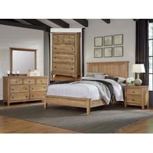 See Details - Solid Oak 7 piece Bedroom Set Model Group# 105