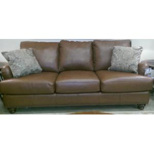 LM89910APS  Loveseat, Loxley Durango Acorn - LEATHER