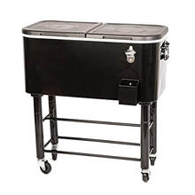 Black Cooler Cart