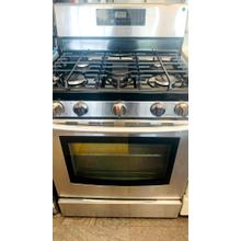 USED- 5.8 cu. ft. Freestanding Gas Range with Fan Convection- G30SSSTV-U SERIAL #100