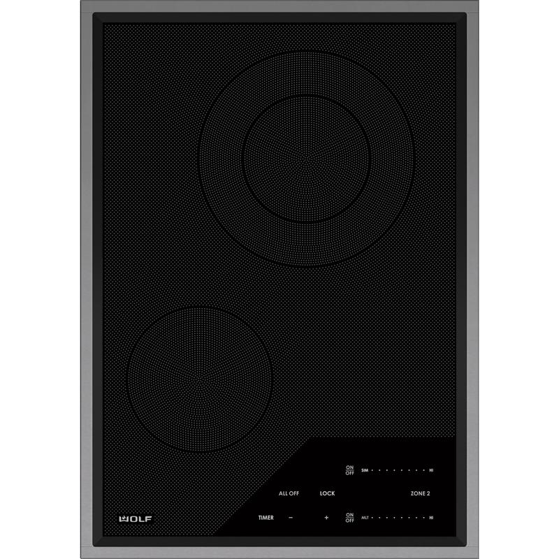 "15"" Transitional Electric Cooktop"