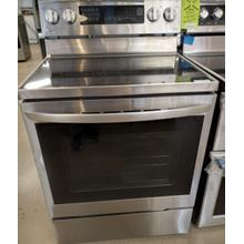 See Details - 6.3 cu ft. Smart Wi-Fi Enabled True Convection InstaView® Electric Range with Air Fry