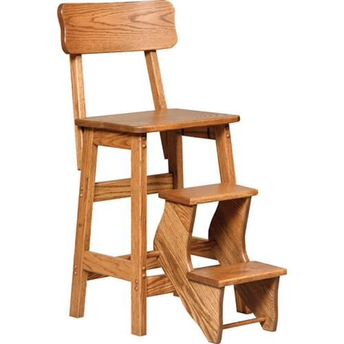 Flip out Step Stool W/Back
