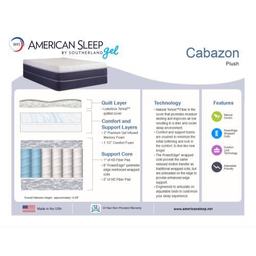 American Sleep - Cabazon - Plush