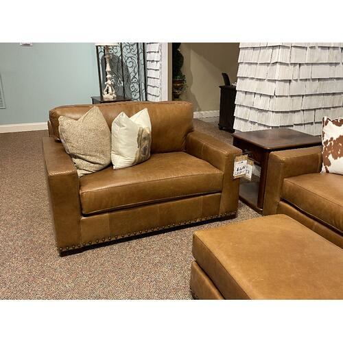 Native By Mayo - Bermuda Desert Leather Sofa - NAT-8886L10/BECA