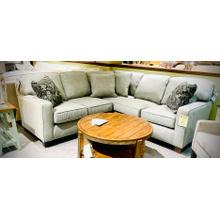 See Details - ANNABEL 3PC SECTIONAL Stationary Sectional in Pewter       (BEST-M82)
