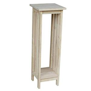 """Whitewood Industries - Unfinished 36"""" Mission Plant Stand"""