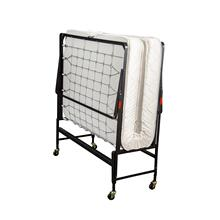 See Details - TWIN SIZE ROLL AWAY BED (MATTRESS INCLUDED)