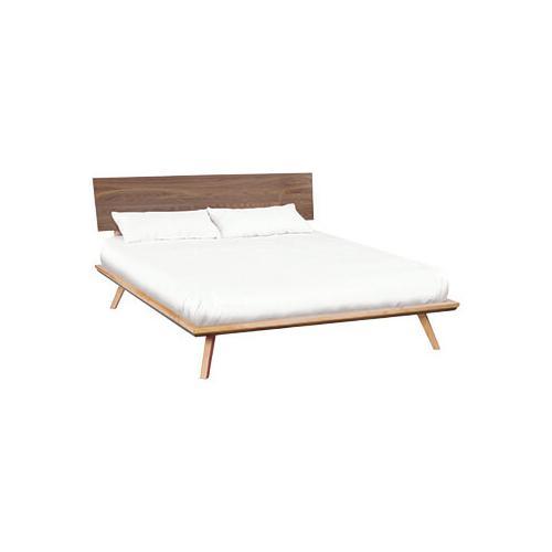 Product Image - Addison cal-king black walnut adjustable headboard platform bed