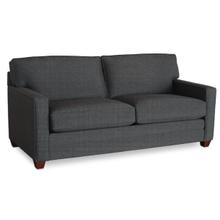 Alex Track Arm Queen Sleeper Sofa - Charcoal