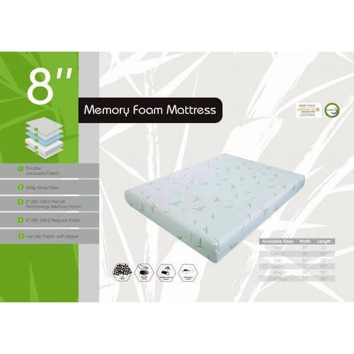 Dreamer 8 inch - Gel Memory Foam