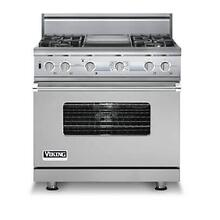 "VIKING PROFESSIONAL DUAL FUEL 36"" RANGE"