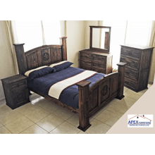6 PC Queen Bed Set - Texas Star Edition